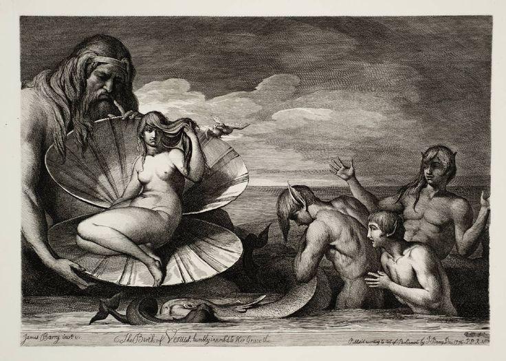 James Barry, The Birth of Venus 1776-1808