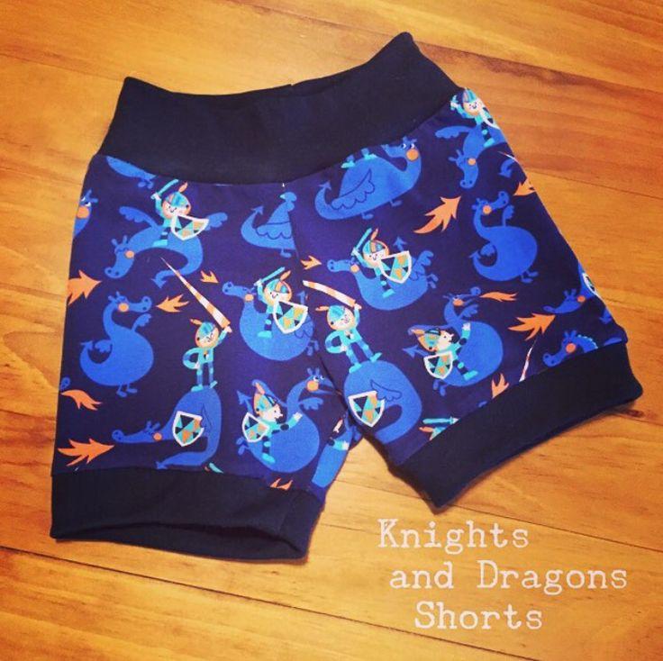 Knights and Dragons Shorts