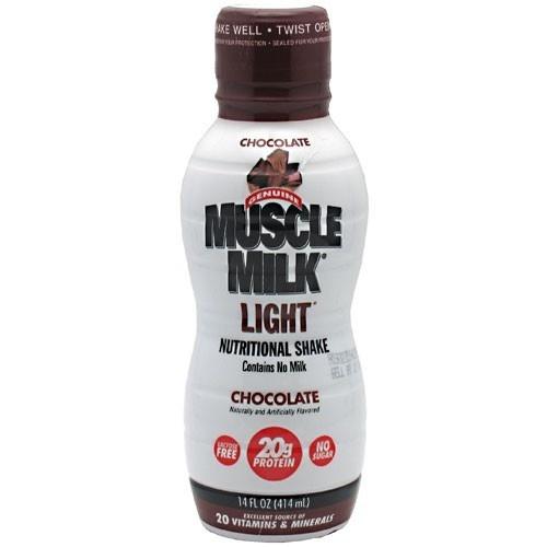 Muscle milk burn fat