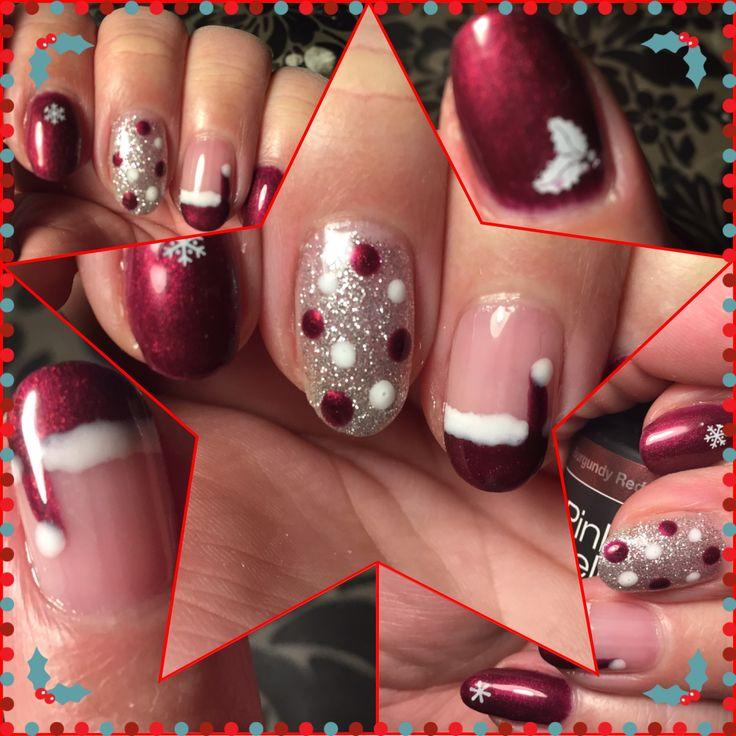 #nailart #gelpolish #christmas #christmasnails # dots