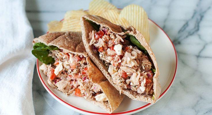 Tuna pita pockets - quick meals