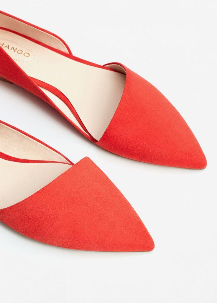 Scarpe basse punta  | MANGO