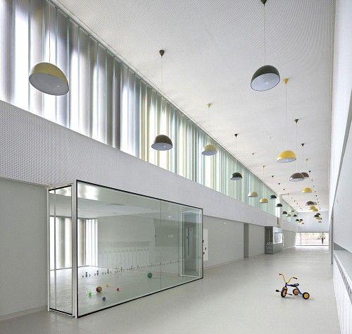 Nursery School In Pamplona By Javier Larraz Arquitectos