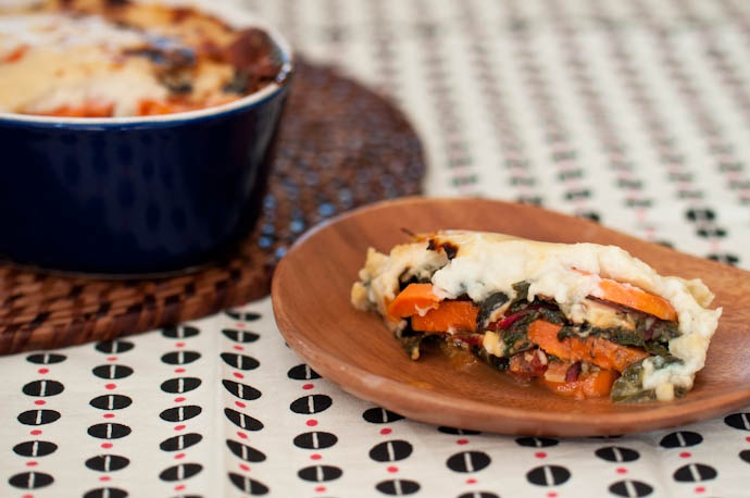 Swiss Chard and Sweet Potato Gratin, adapted from Smitten Kitchen | R ...