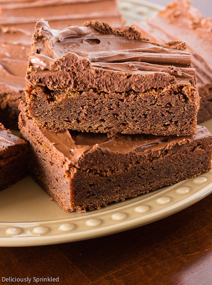 Cake brownies from scratch recipe