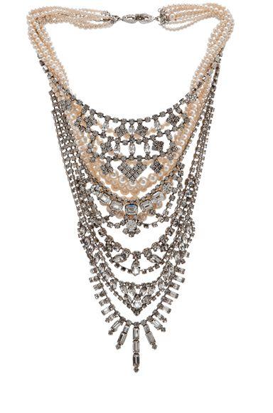 #: Tombinn, Pearls Necklaces, Statement Necklaces, Tom Binns, Toms Binns, Accessories, Binns Candy, Tiered Necklaces, Candy Necklaces