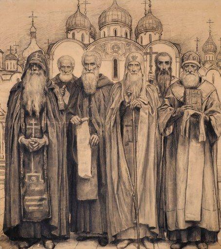 Собор святых прп. Антоний Печерский, прп.Сергий Радонежский