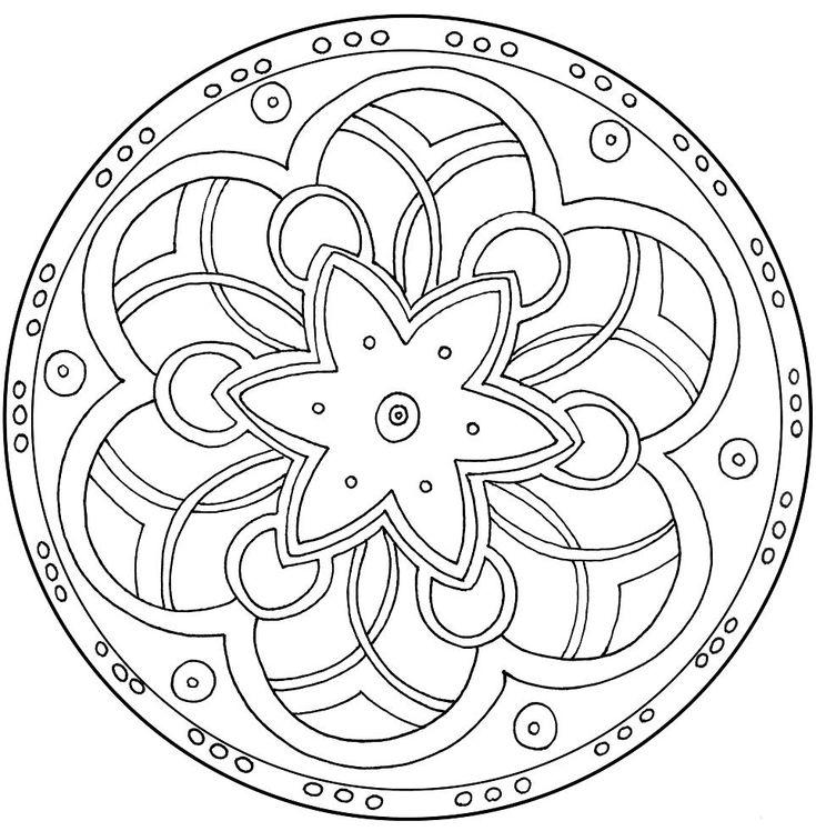Mandalas Dibujos Para Pequeos Y Mayores
