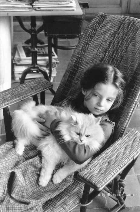 Mélanie Cartier-Bresson, 1978 | photo by Henri Cartier-Bresson