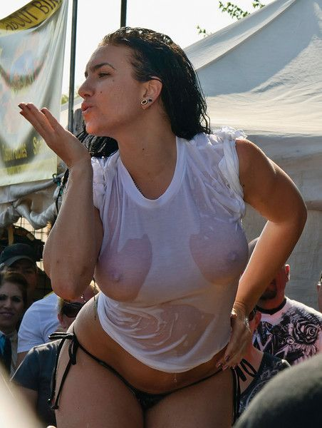 Final, sorry, wet t shirt contest biker babes
