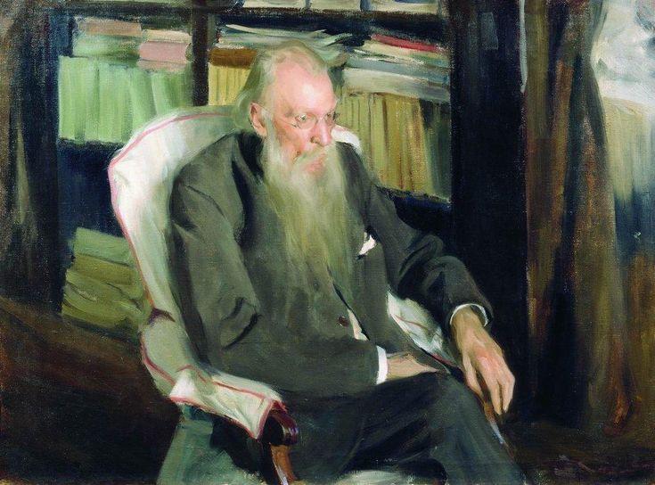 Boris Kustodiev (Russia, 1878 – 1927) Portrait of the writer D.L. Mordovtsev, 1901