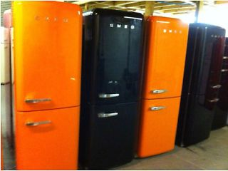 EXCELLENT SMEG FRIDGE FREEZERs FAB 32, 30 & 28 MANY COLOURS+ WARRANTY. DELIV POSSIBLE. Essex Picture 2