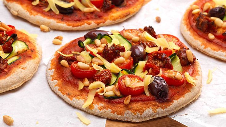 Vegan Roast Vegetable Pizza