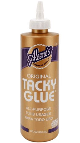 Tacky Glue Aleenes 8 oz. size $3.29  each / 3 for $2.99 each