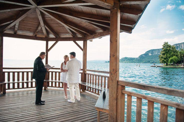 A Lake Garda Wedding Blessing or Renewal of Vows