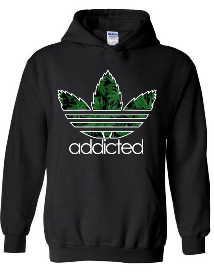 Addicted Hooded  addicted weed blunt roller 420 kush weed hoodie marijuana leaf marijuana dope marijuana hoodie blunt (15.89 USD) by icustomfit