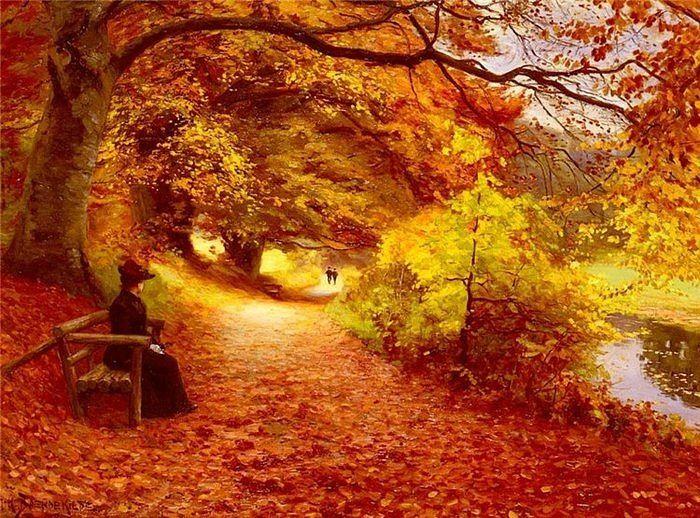"""sanatportal:  """"Anılar hep sonbahar gibidir…"""" Cemal Süreya"""
