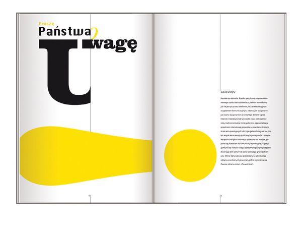 Editorial Design: Master Thesis by Joanna Tyborowska