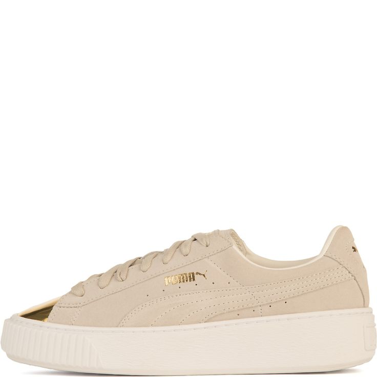 Buy Women's Suede Platform Gold Casual Sneaker Online. Find more women's casual, lace-up, and Puma sneakers at ShiekhShoes.com.