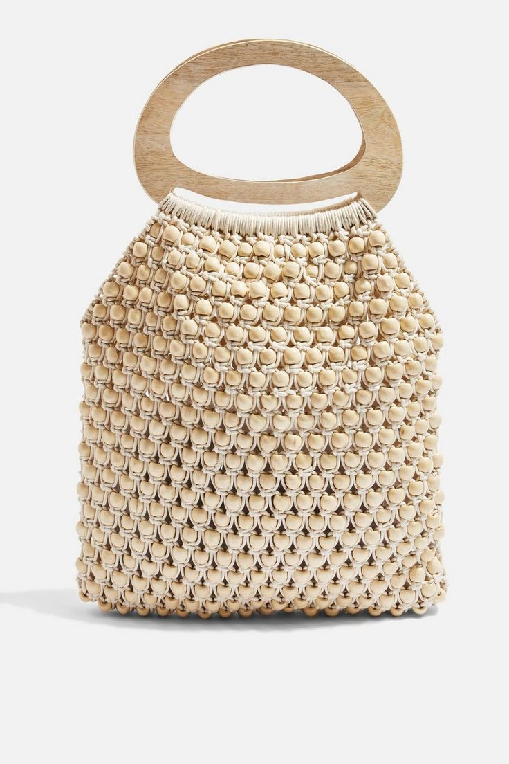 Beaded Tote Bag – Prairie Daze – We Love – Topshop USA