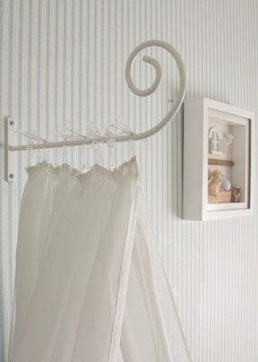 Dossel para cortinado da caminha de bebé