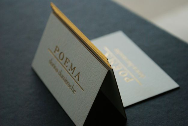 Carti de vizita cu Folio | Carti de vizita de LUX | Carti de vizita PREMIUM