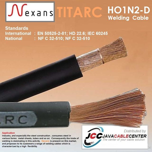 Java Cable Center Kabel Las Welding Cable H01n2 D Nexans Titarc In 2020 Welding Cable Welding Welding Equipment