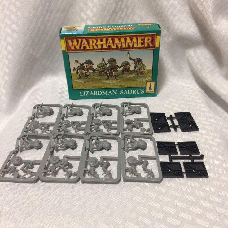 Warhammer Game Lizardman Saurus Seraphon 8 Figures Unpainted Unpunched #Warhammer