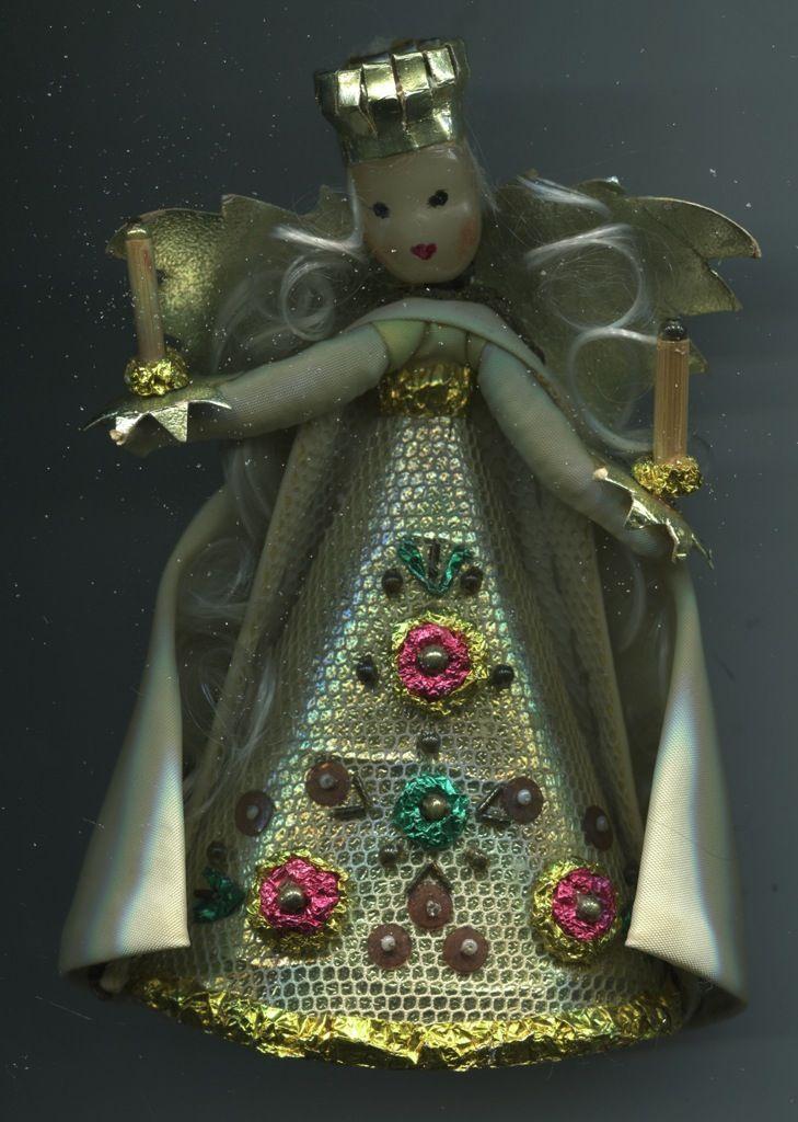 weihnachtschmuck alt | Alt Weihnachtsschmuck Christbaumschmuck farbig Rauschgoldengel Engel ...
