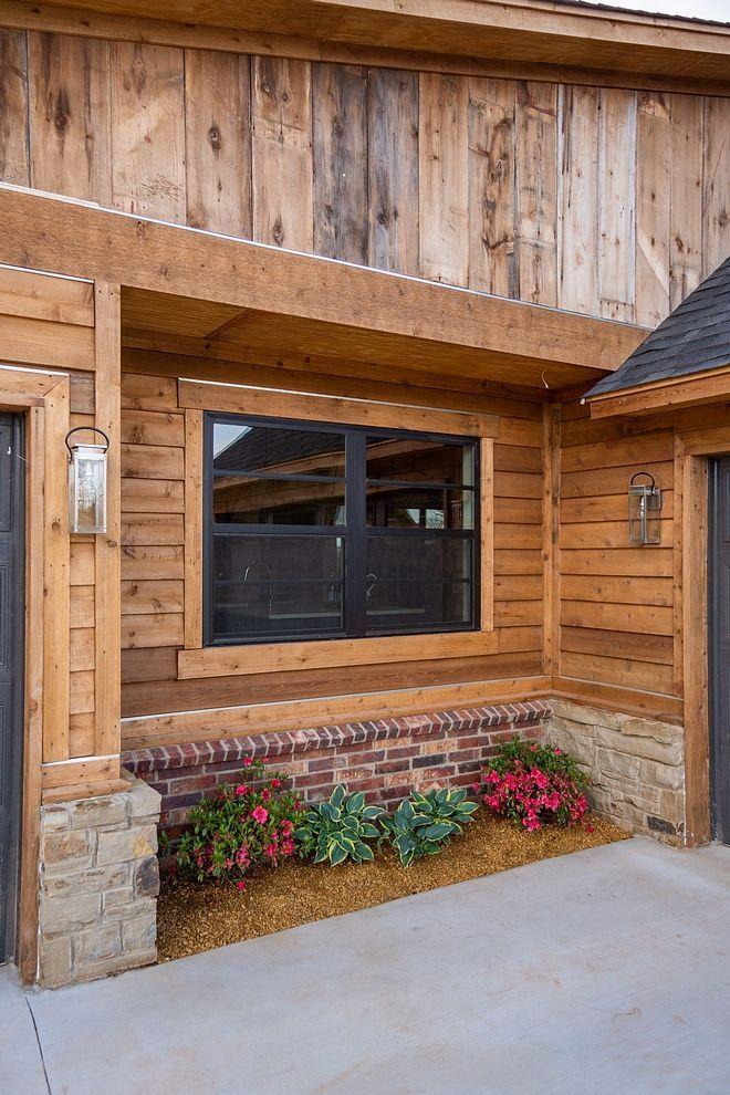 Mid Century Modern Farmhouse In 2020 Wood Siding Exterior Rustic Houses Exterior Wood Siding
