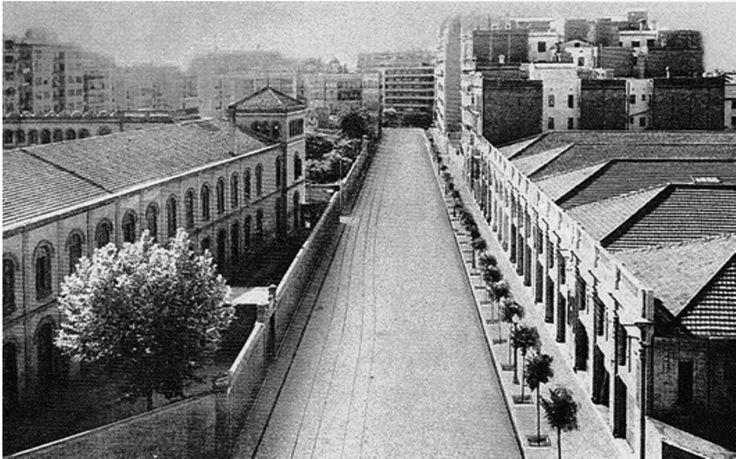 Barcelona, carrer Tuset 1930.