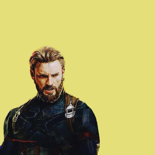 Steve Rogers in Infinity War concept art.➠▩ Comics Heroes Marvel ▩✪