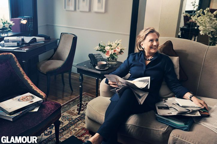 """Career Advice from Hillary Rodham Clinton: """"You Don't Have to Be Perfect. Most Men Never Think Like That."""""""