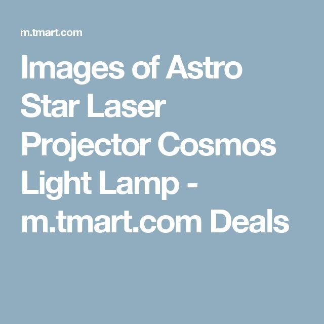 Images of Astro Star Laser Projector Cosmos Light Lamp - m.tmart.com Deals