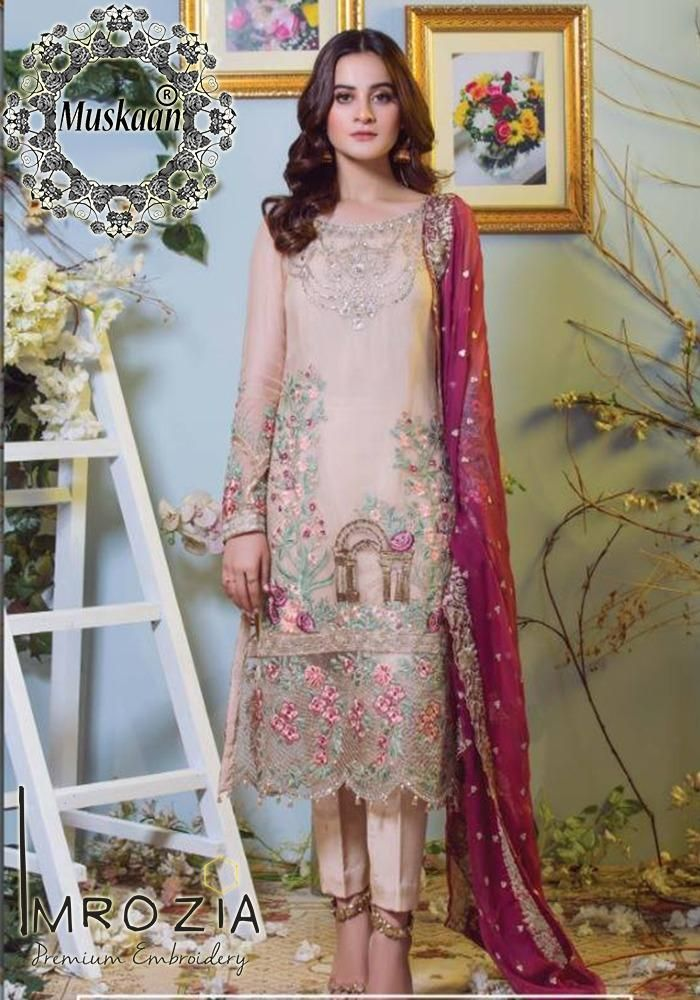 08a3d5fa83 Imrozia Chiffon Collection Rs.3,975   Things to wear in 2019   Mayon ...
