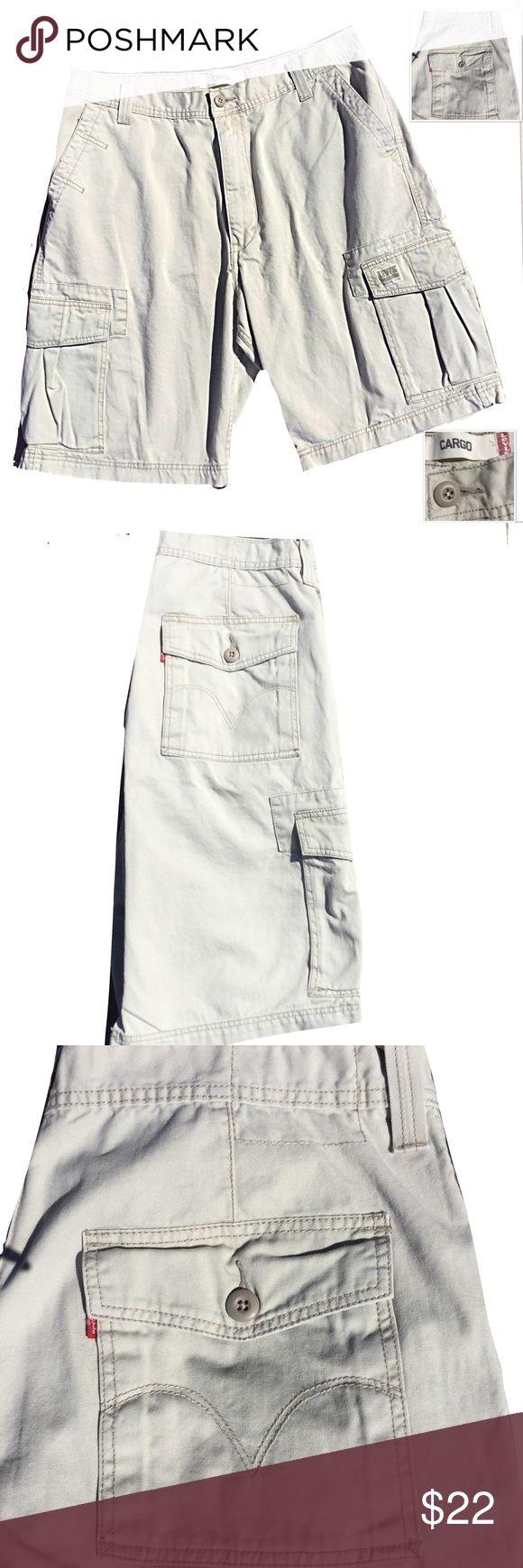 LEVI CARGO SHORTS. NWOT MENS W 38 INSEAM 11 LEVI CARGO SHORTS. NWOT MENS W 38 INSEAM 11 100% Cotton.  All offers considered.  Bundle for an additional 10% Off.  Happy Poshing!  😊❤️ Levi's Shorts Cargo
