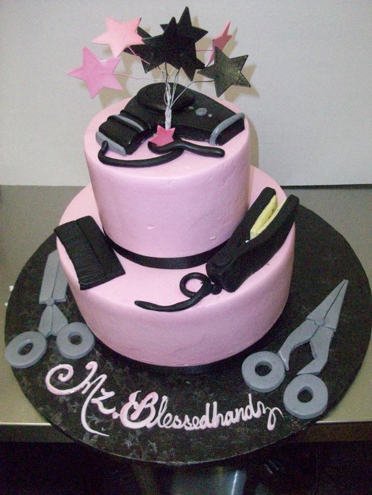 Hairdresser Cake  Tier