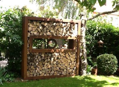 Holzlege mit breitem Flansch