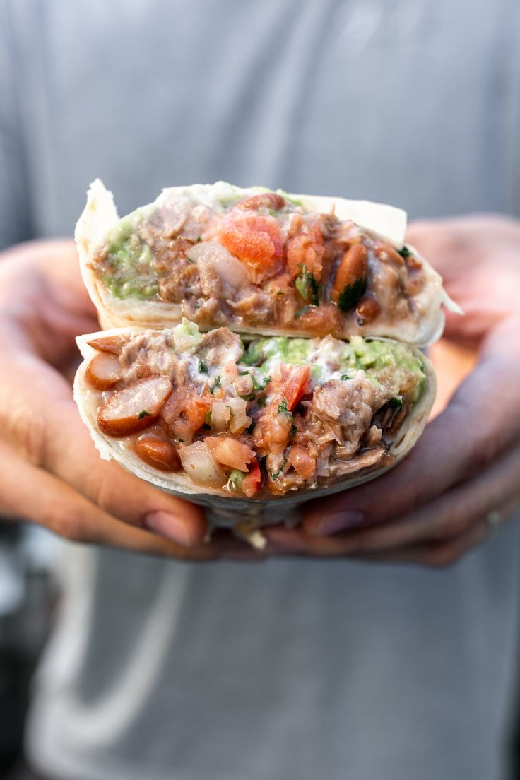 A long weekend in san francisco mission style burrito