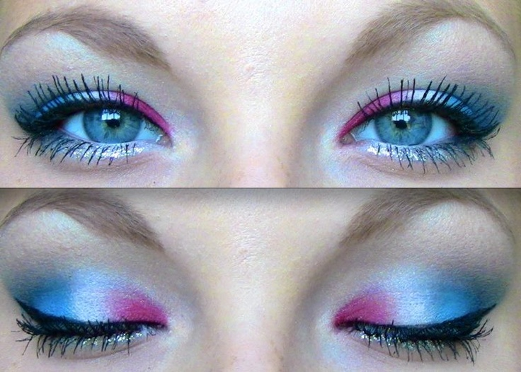 fourth of july makeup!