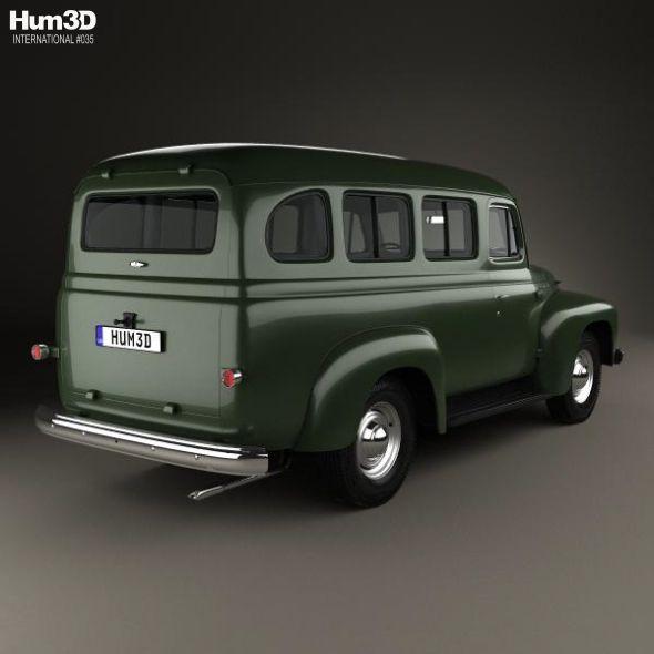 International Harvester R 110 Travelall 1953 International Harvester Harvester Car Model