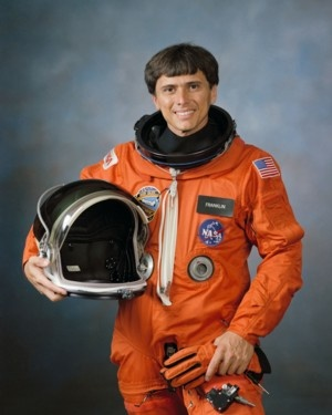 Dr. Franklin Chang-Diaz, first Hispanic-American in space