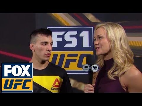 Thomas Almeida on knocking out Albert Morales in home country | UFC Fight Night Brazil