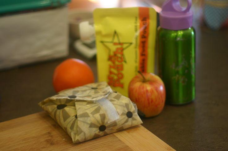 Making a fabric Sandwich Wrap
