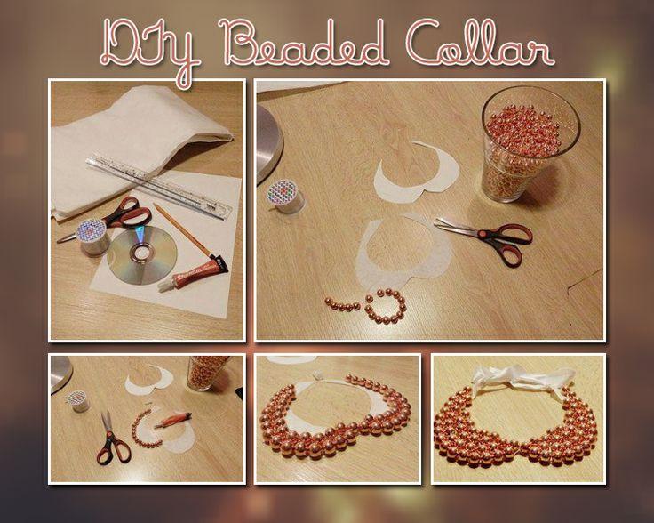 D I Y  Beaded  Collar