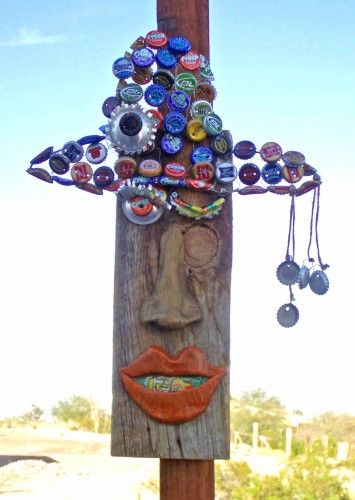 Recycled Yard Art   Google Search