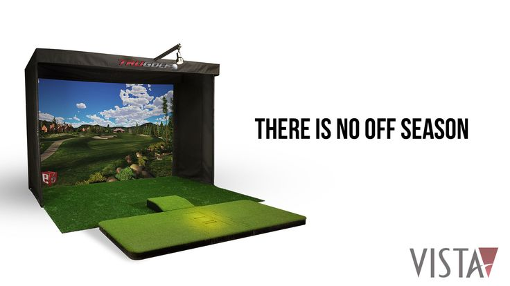 Starting at a base price of $9,495, the Vista is one of the most affordable in-home golf simulators on the market.  No matter where you live, your schedule, or the weather, the Vista Indoor Golf Simulator will help build your confidence, composure and control the next time you hit the links. With the Vista Indoor Golf Simulator, there is no off season.