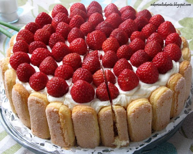 Charlotte and Strawberries on Pinterest