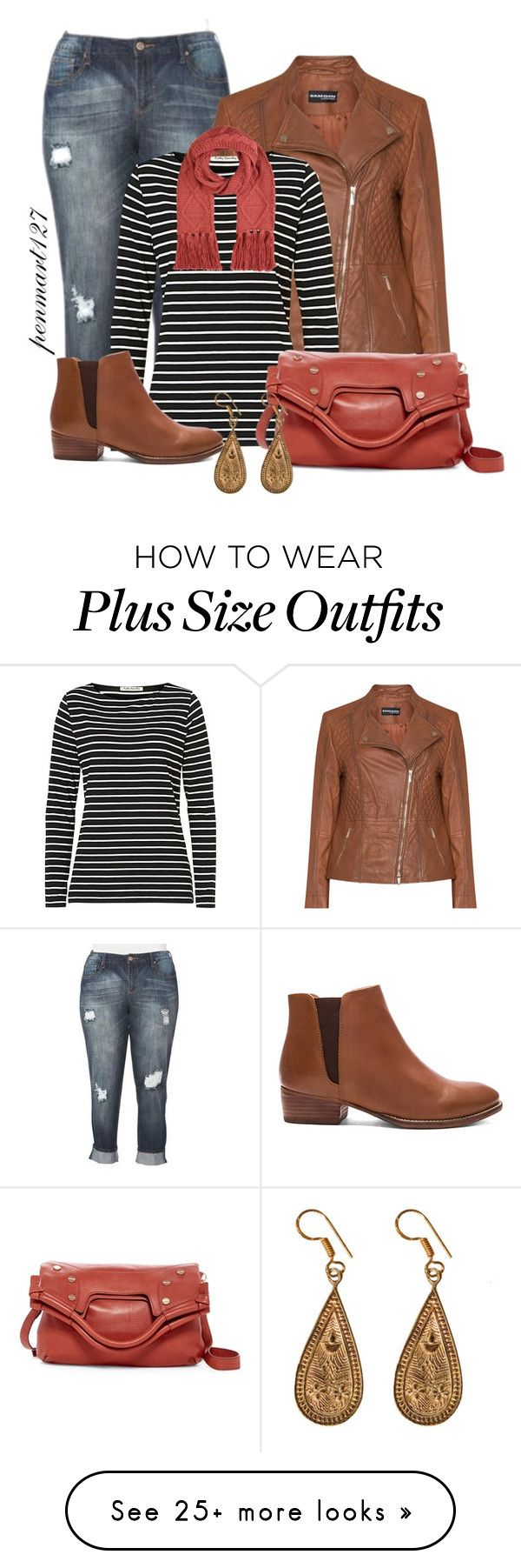 """""""Plus Size Fall #Plussize"""" by penny-martin on Polyvore featuring Samoon, Betty Barclay, Accessorize, Seychelles, Foley + Corinna and Urbiana"""