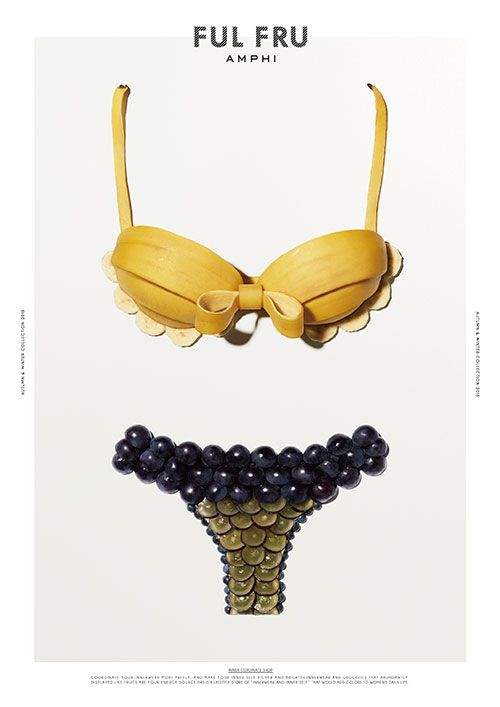 "Wacoal is deployed ""Amphitheatre furfuraldehyde"", new lingerie launch of Photo 4 in the image of the fall of the fruit"